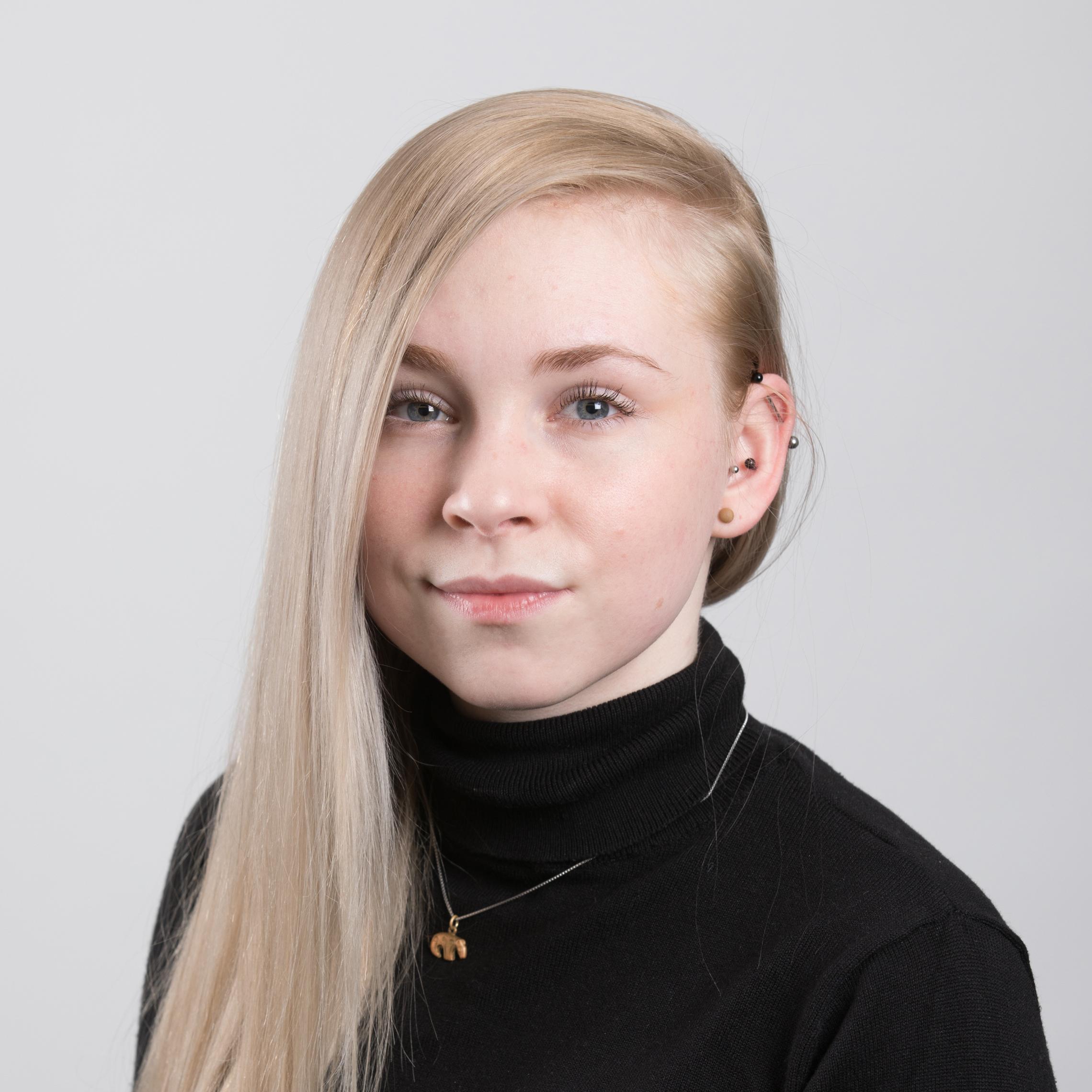 kuvassa Katja Kuusemo
